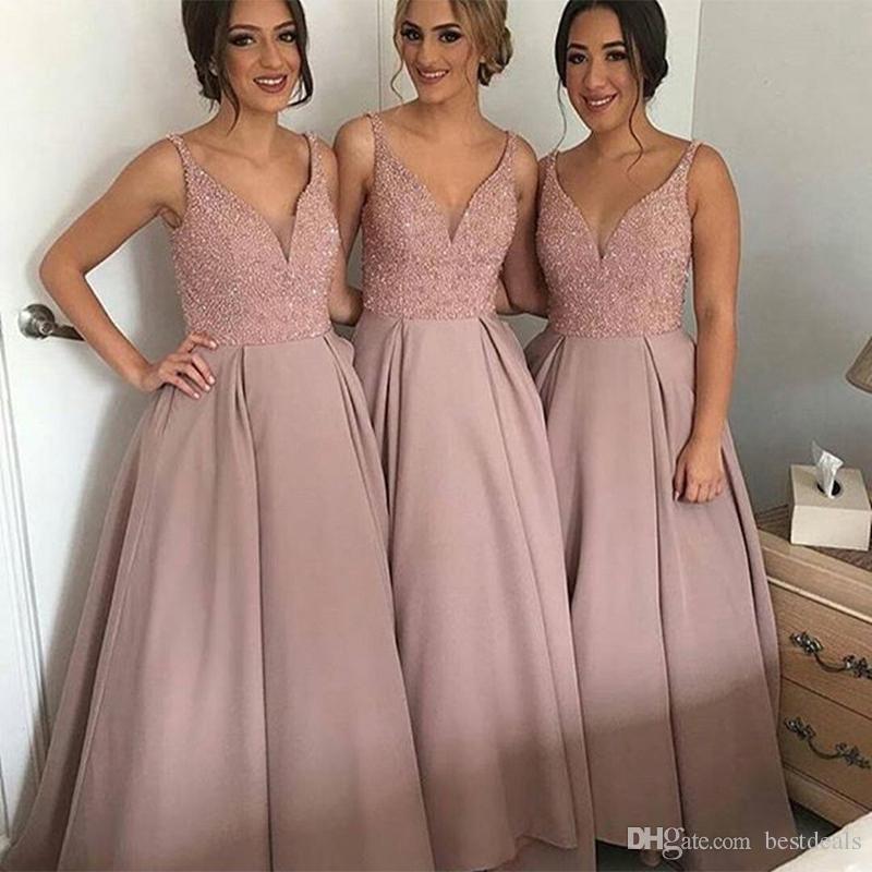 Robe longue invité mariage